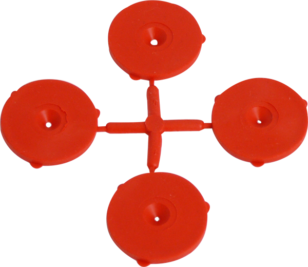 K0002 Red Rubber Washers